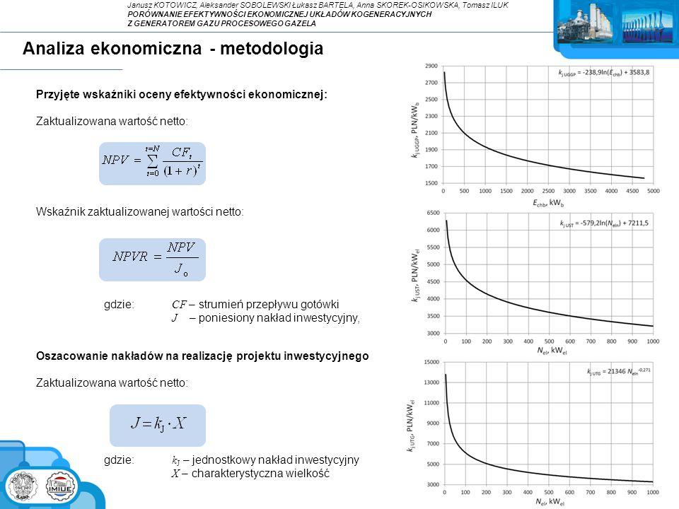 Analiza ekonomiczna - metodologia