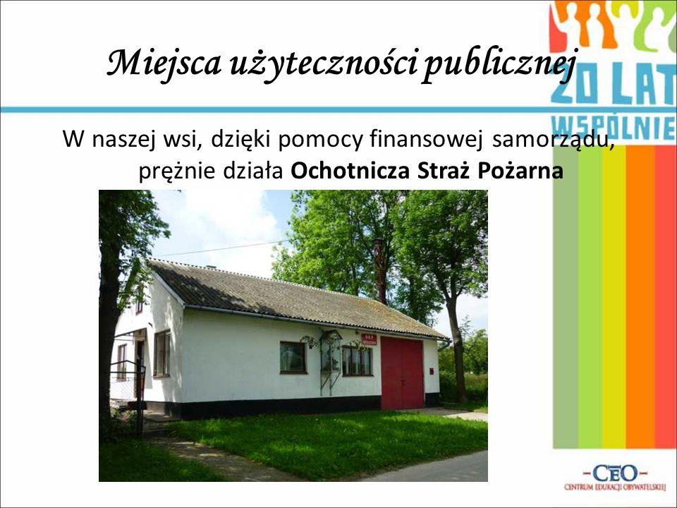 Miejsca użyteczności publicznej