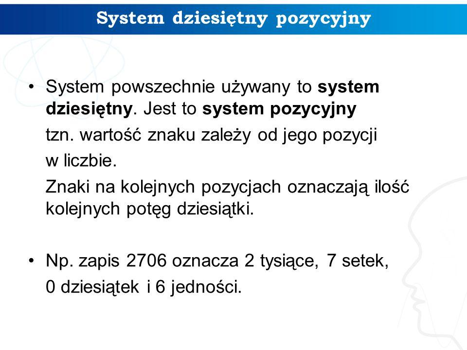 System dziesiętny pozycyjny