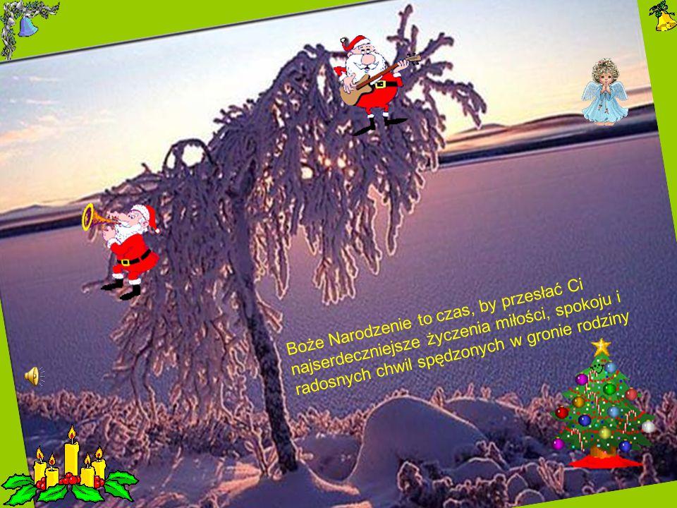Boże Narodzenie to czas, by przesłać Ci najserdeczniejsze życzenia miłości, spokoju i radosnych chwil spędzonych w gronie rodziny