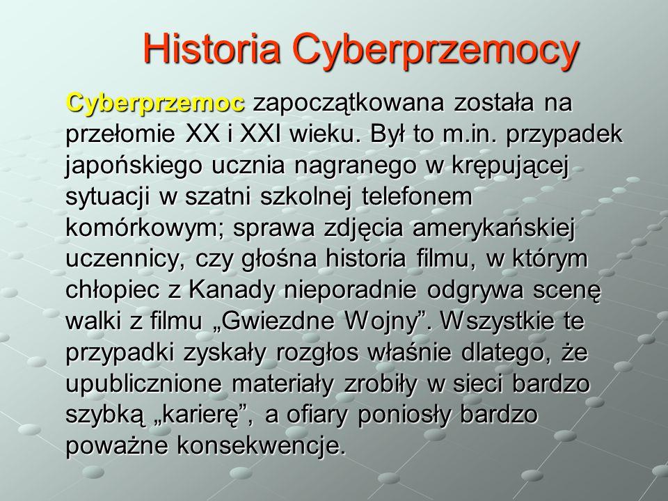Historia Cyberprzemocy