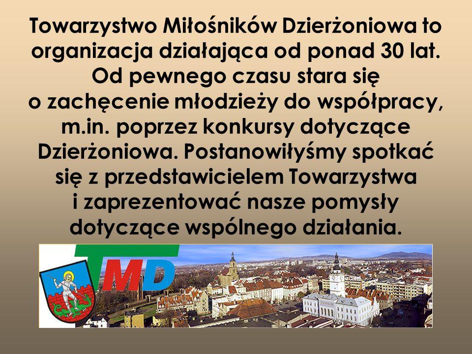Towarzystwo Miłośników Dzierżoniowa to organizacja działająca od ponad 30 lat.
