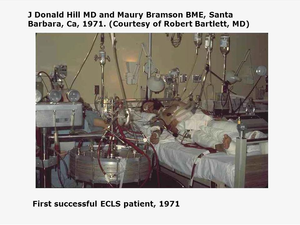 J Donald Hill MD and Maury Bramson BME, Santa Barbara, Ca, 1971