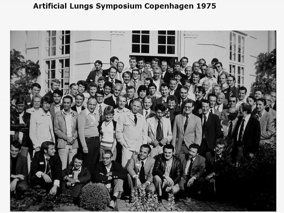 Artificial Lungs Symposium Copenhagen 1975