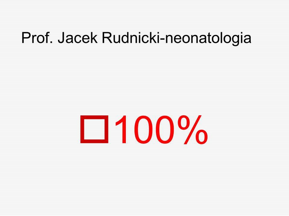 Prof. Jacek Rudnicki-neonatologia