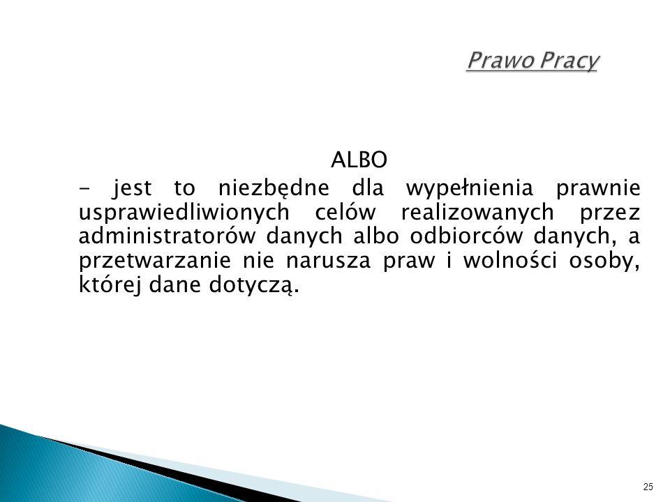 Prawo Pracy ALBO.