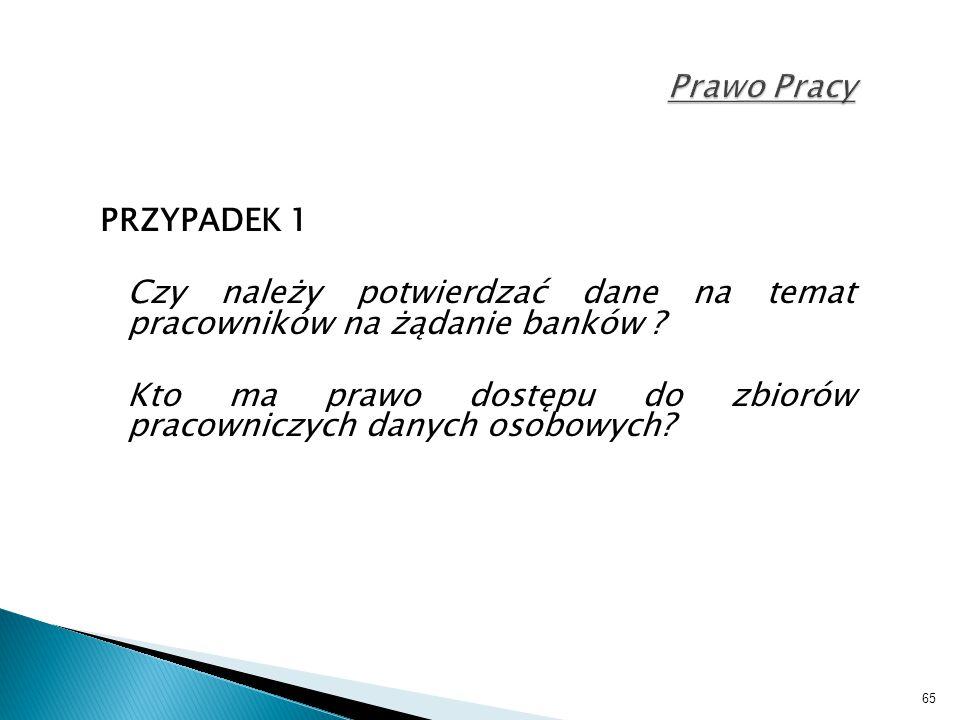 Czy należy potwierdzać dane na temat pracowników na żądanie banków