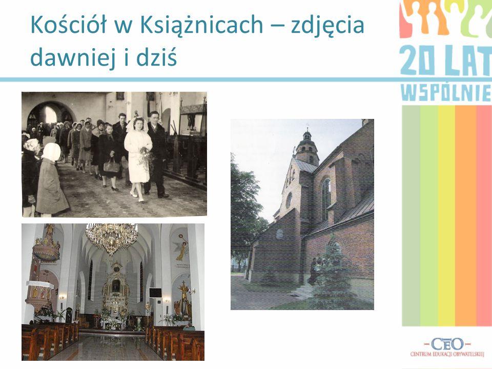 Kościół w Książnicach – zdjęcia dawniej i dziś