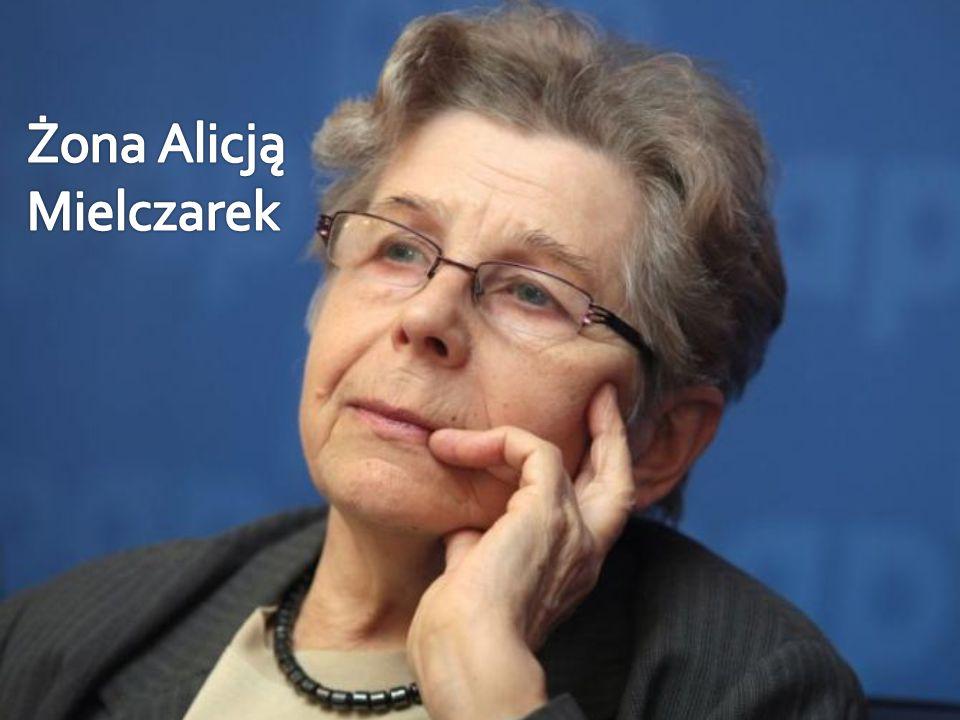 Żona Alicją Mielczarek