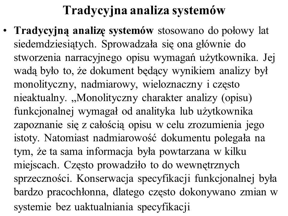 Tradycyjna analiza systemów