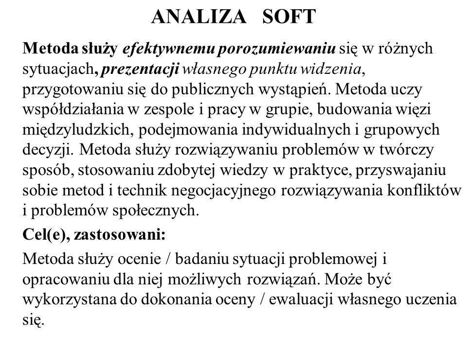 ANALIZA SOFT