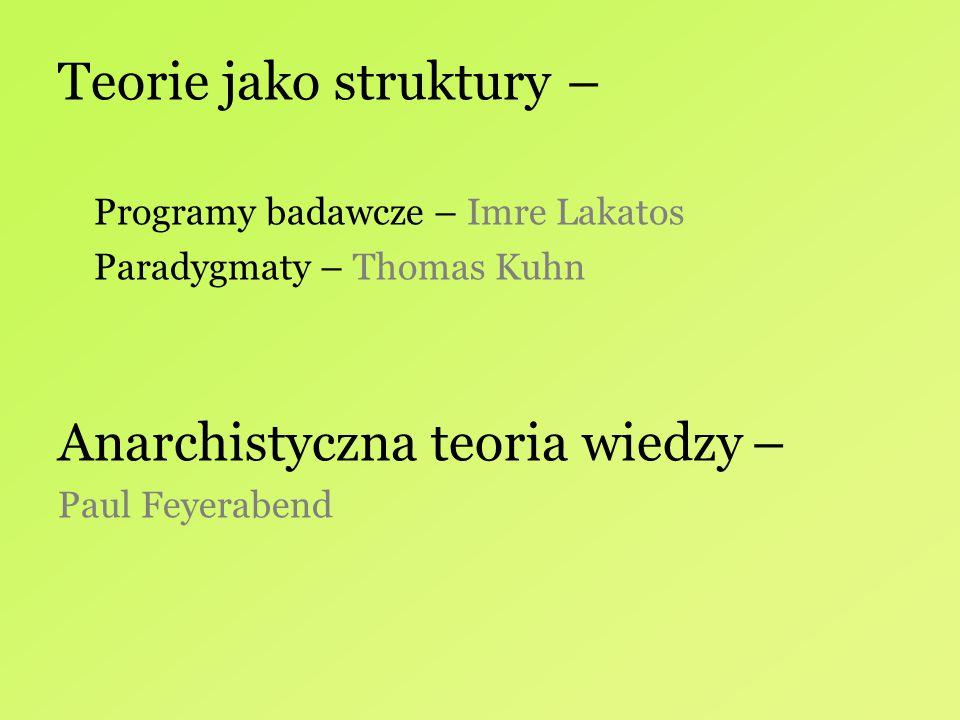 Teorie jako struktury –