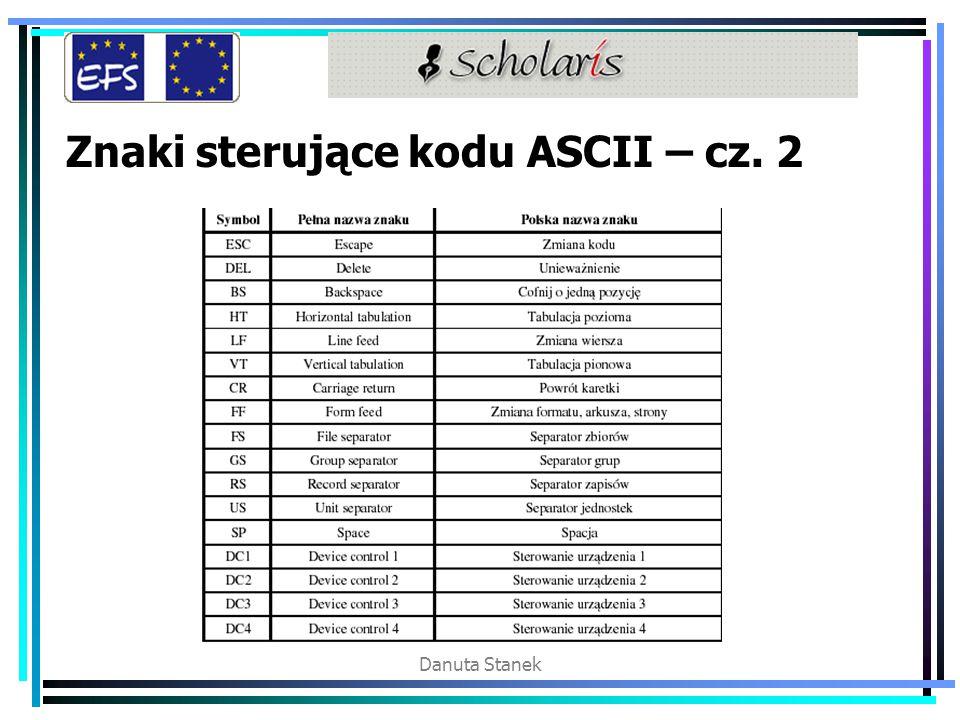 Znaki sterujące kodu ASCII – cz. 2