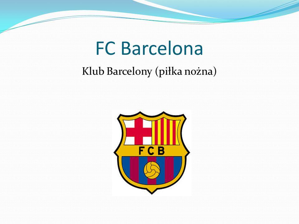 Klub Barcelony (piłka nożna)