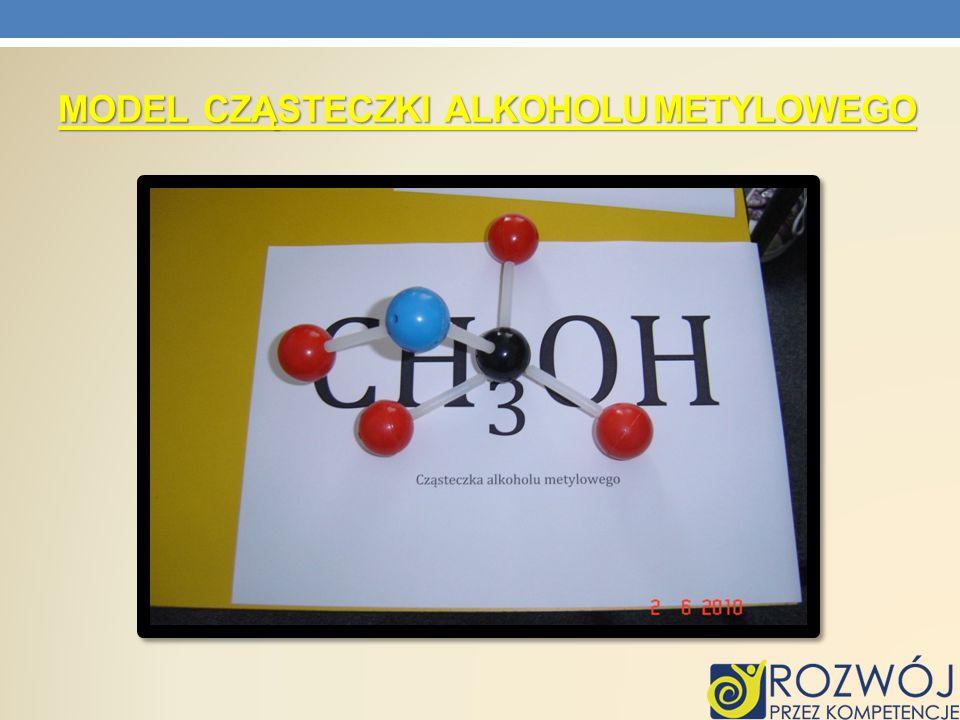 Model Cząsteczki alkoholu metylowego