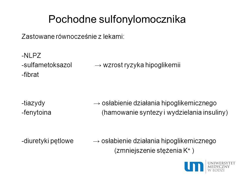 Pochodne sulfonylomocznika