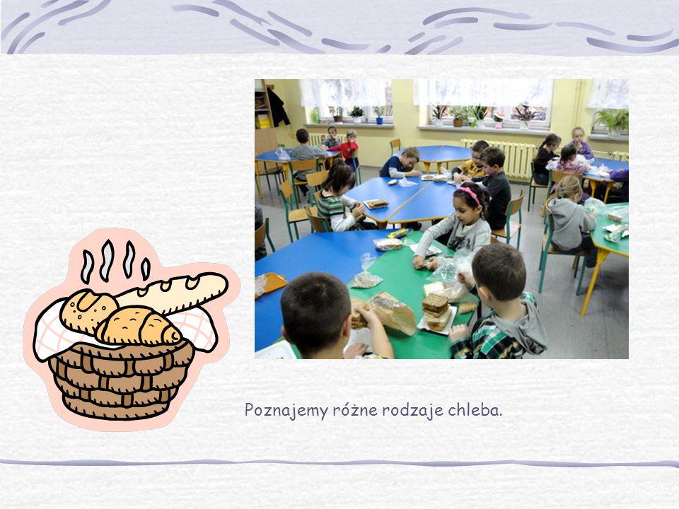Poznajemy różne rodzaje chleba.