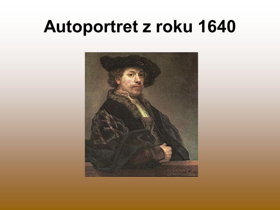 Autoportret z roku 1640
