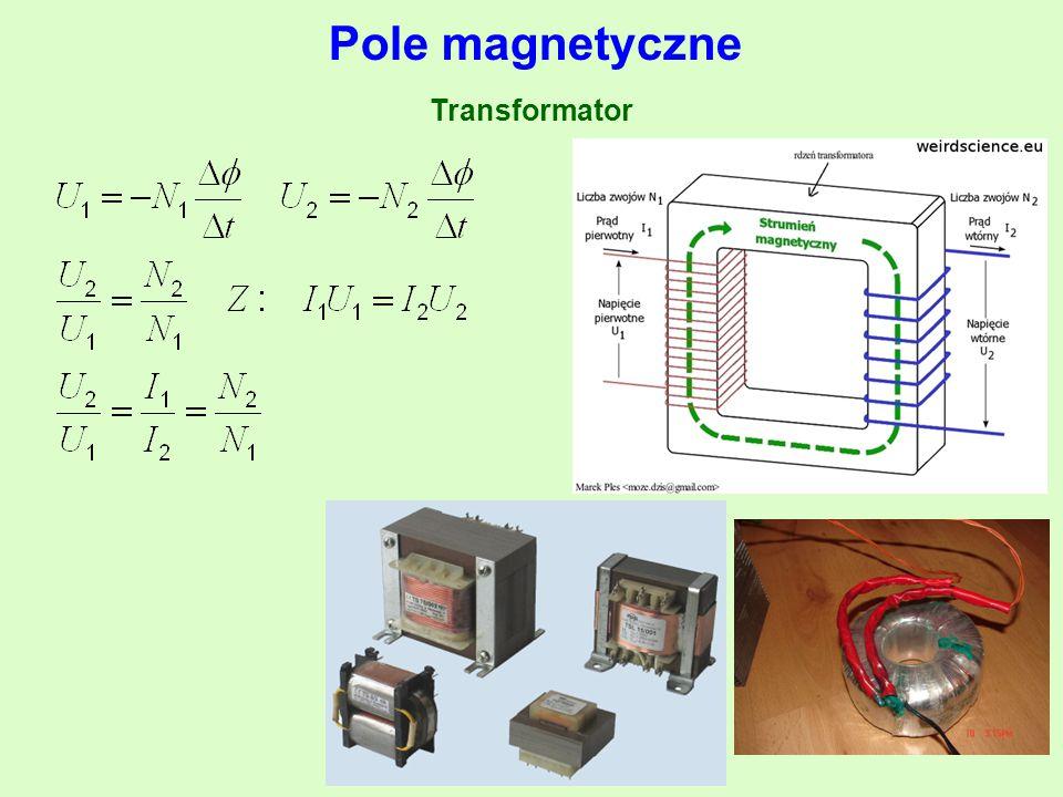 Pole magnetyczne Transformator