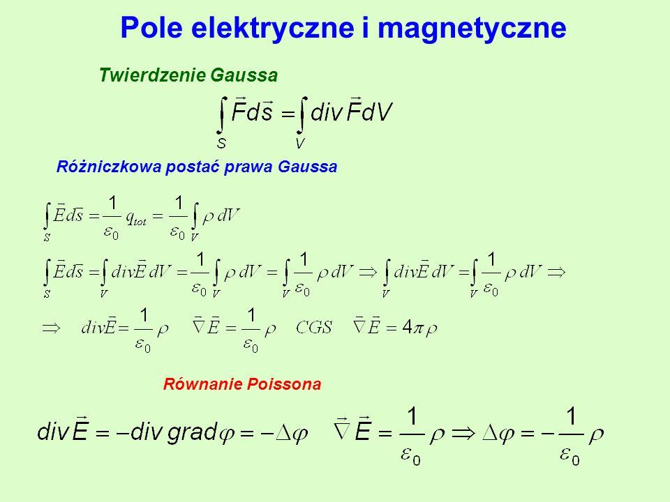 Pole elektryczne i magnetyczne