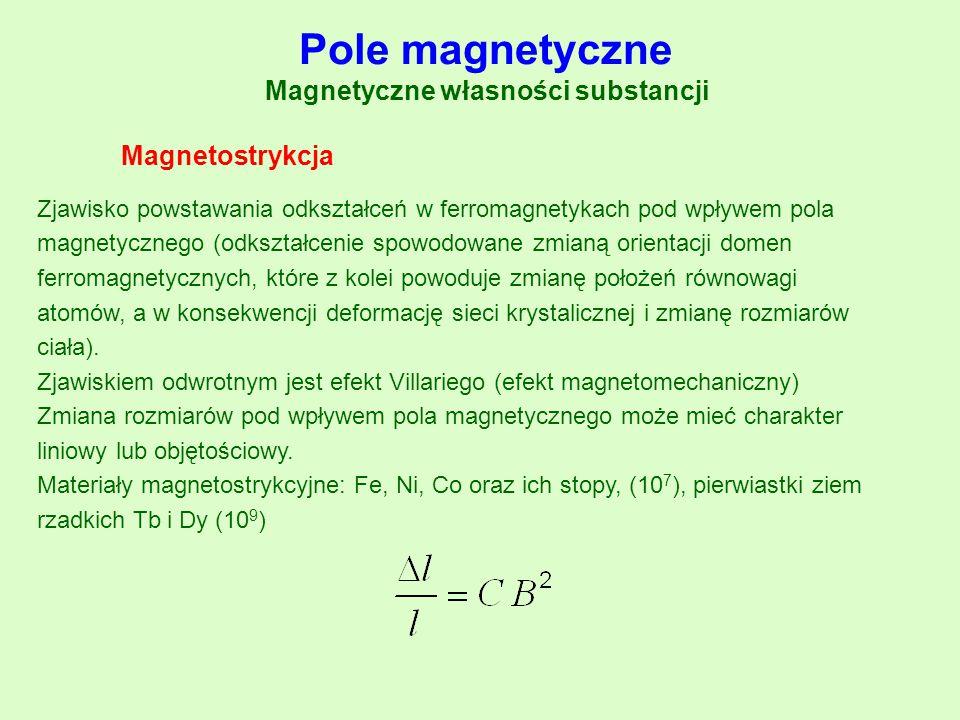 Magnetyczne własności substancji