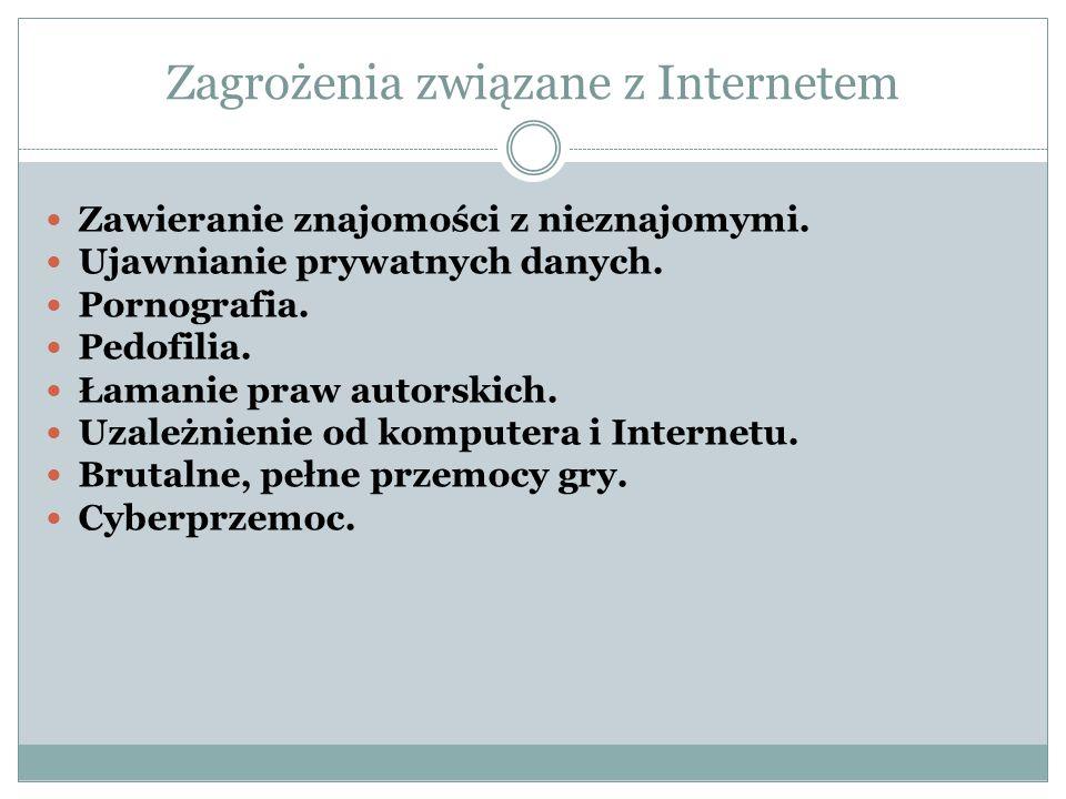 Zagrożenia związane z Internetem