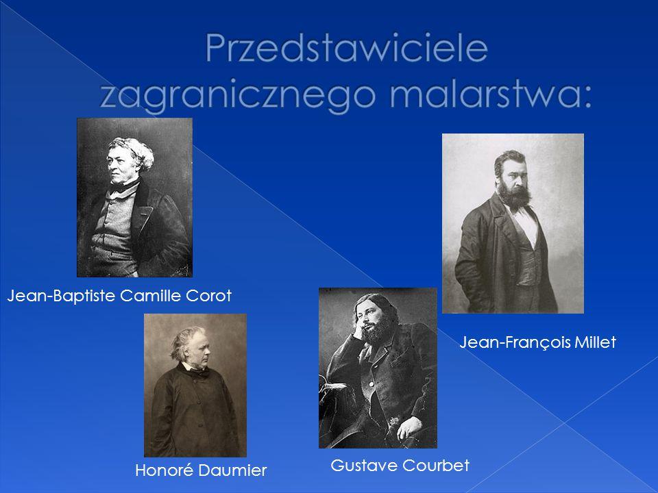 Przedstawiciele zagranicznego malarstwa: