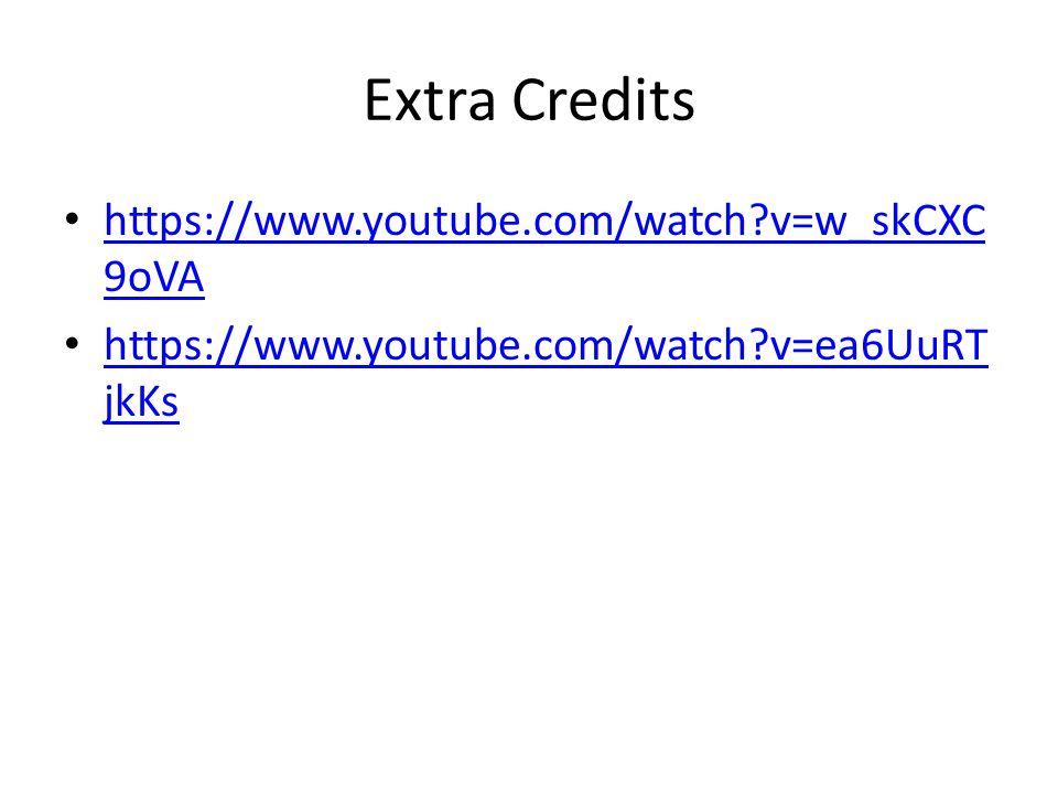 Extra Credits https://www.youtube.com/watch v=w_skCXC9oVA