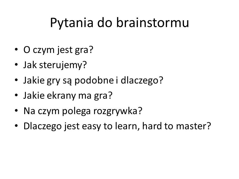 Pytania do brainstormu