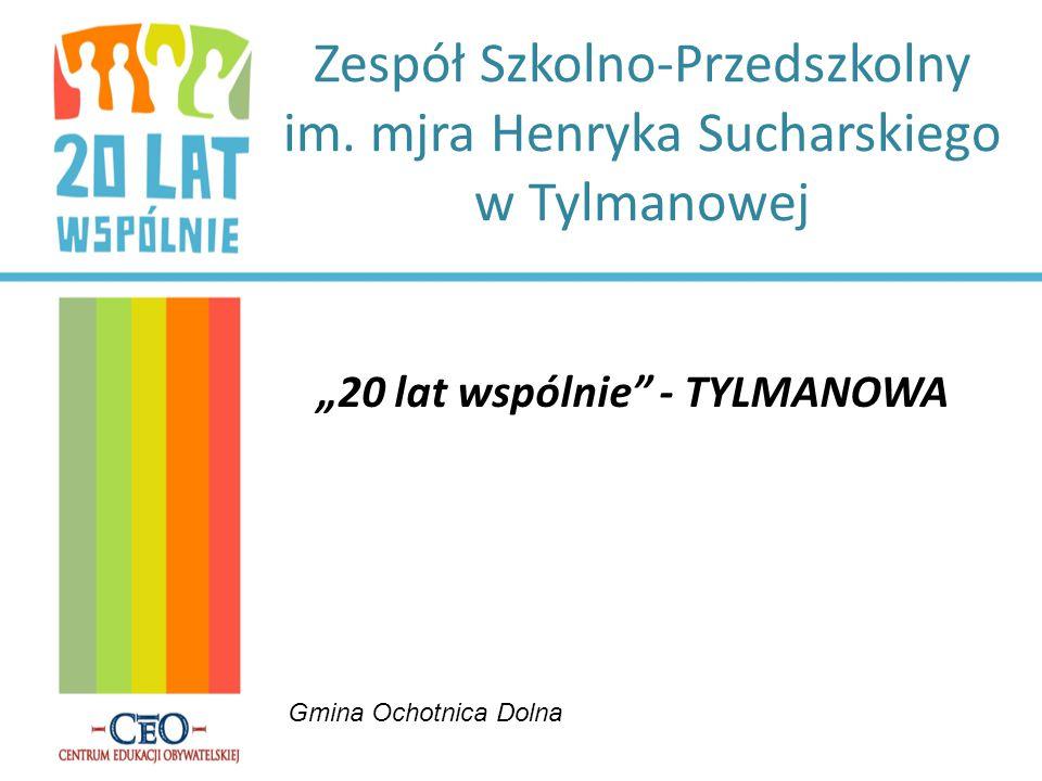 Zespół Szkolno-Przedszkolny im. mjra Henryka Sucharskiego w Tylmanowej