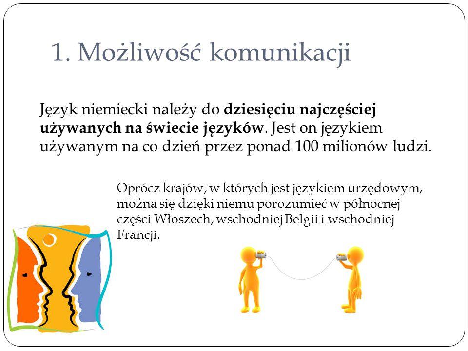 1. Możliwość komunikacji
