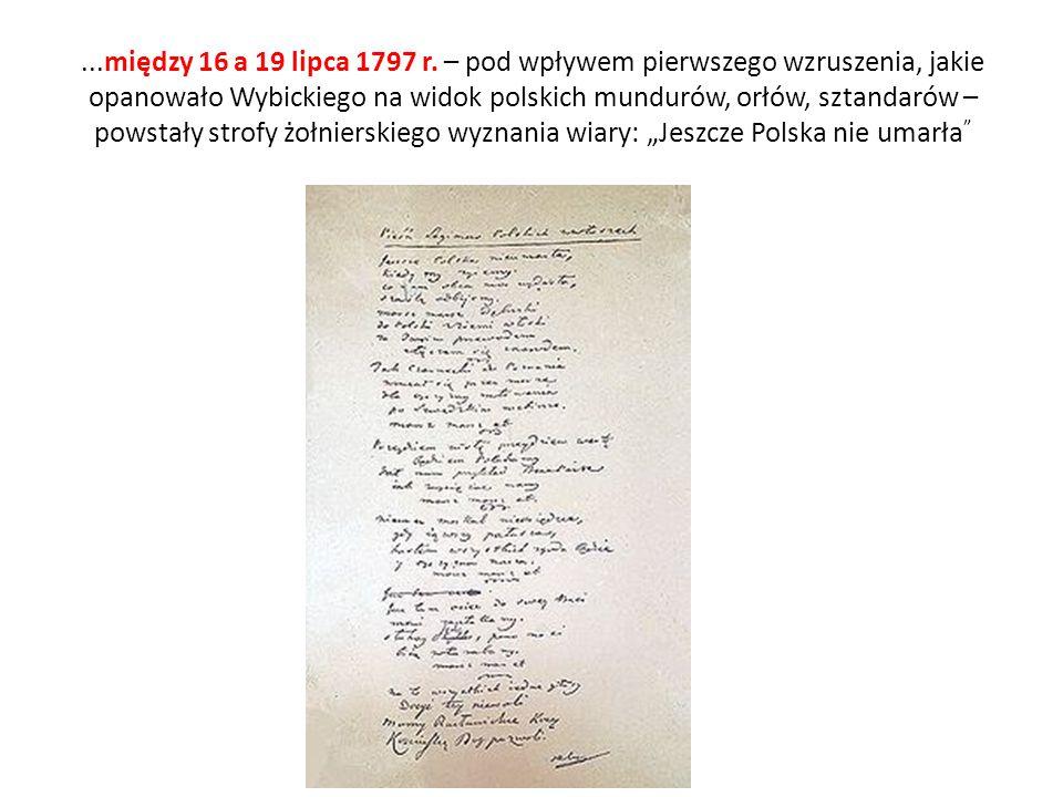...między 16 a 19 lipca 1797 r.