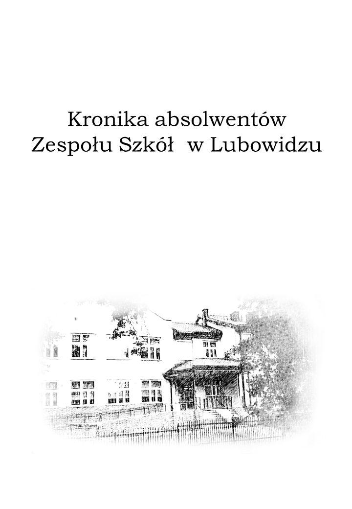 Zespołu Szkół w Lubowidzu