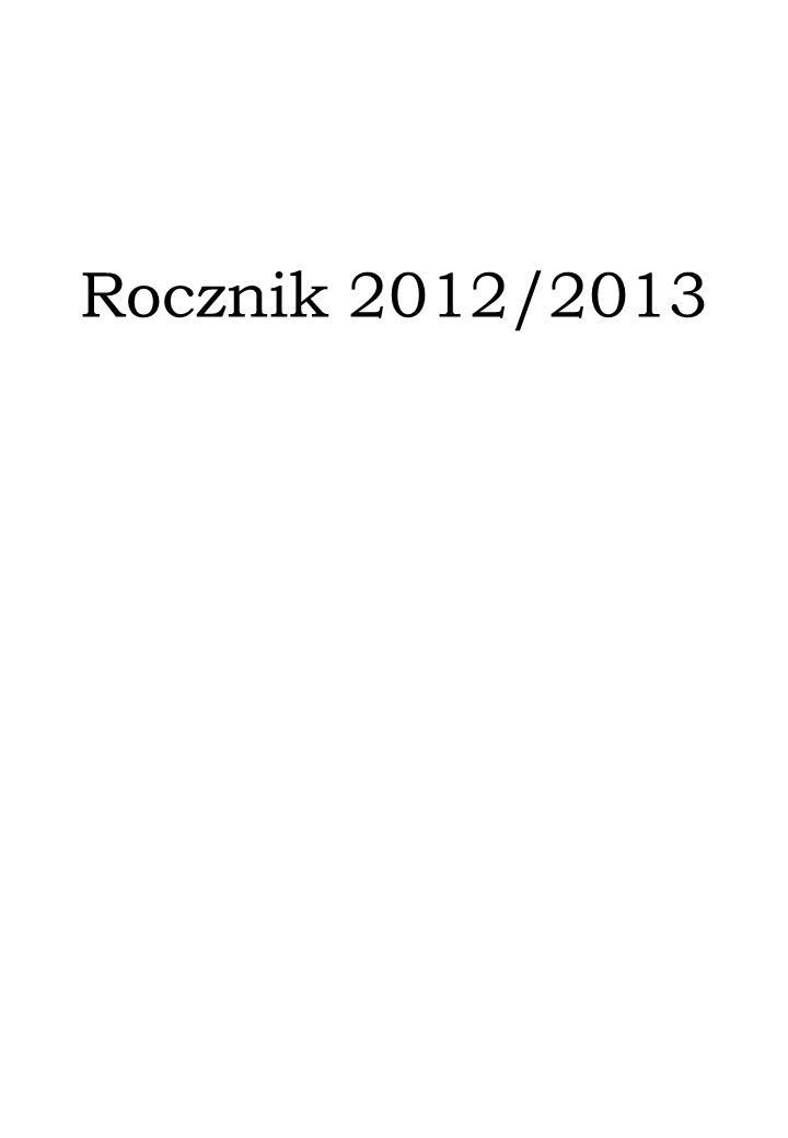 Rocznik 2012/2013