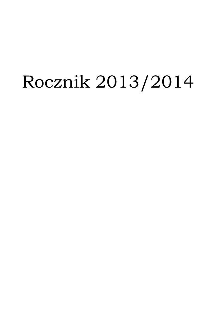 Rocznik 2013/2014