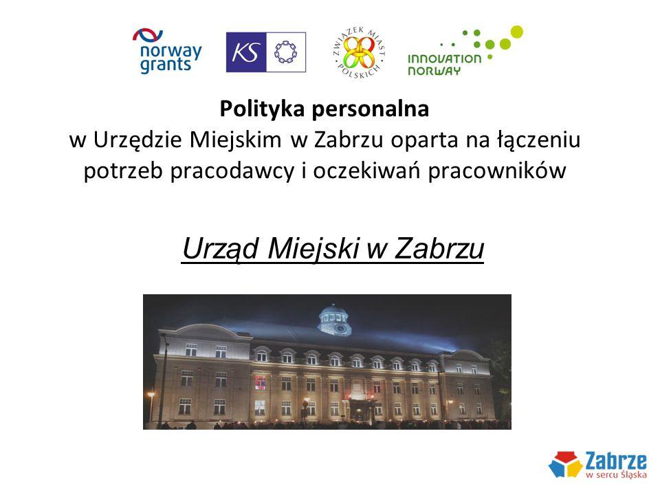Polityka personalna w Urzędzie Miejskim w Zabrzu oparta na łączeniu potrzeb pracodawcy i oczekiwań pracowników