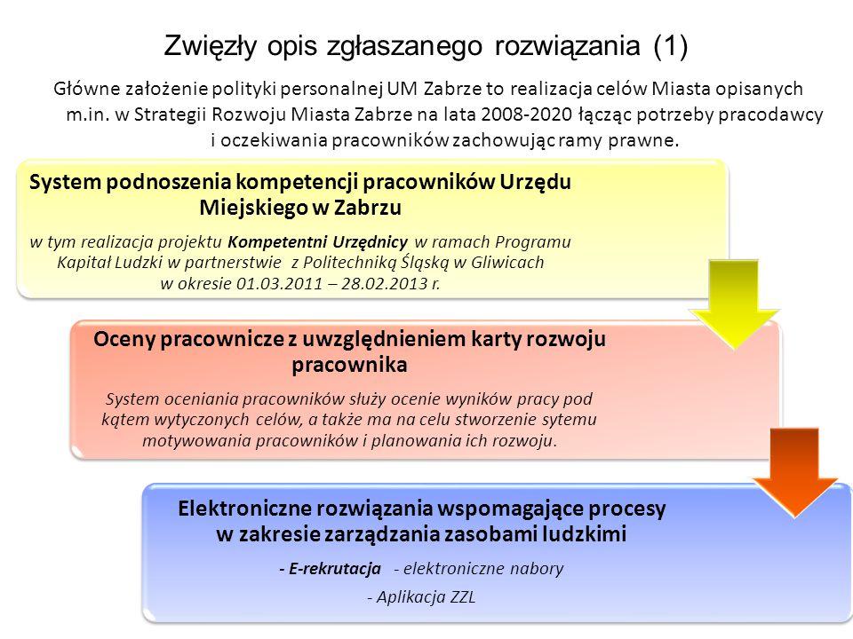 Zwięzły opis zgłaszanego rozwiązania (1)