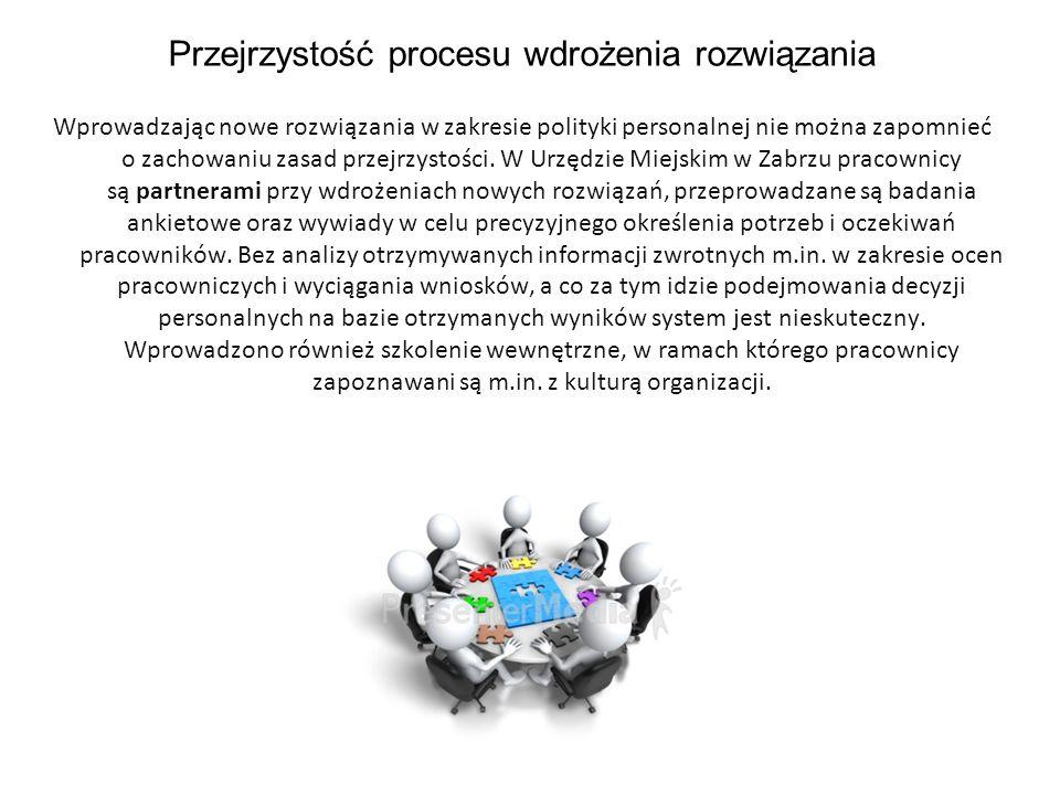 Przejrzystość procesu wdrożenia rozwiązania