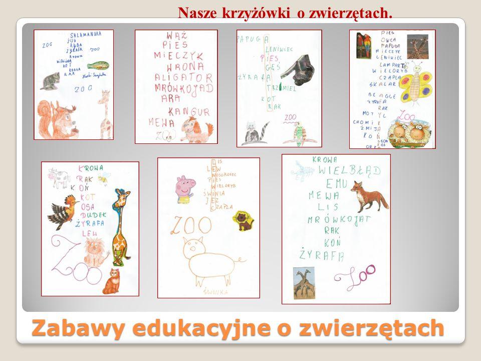 Zabawy edukacyjne o zwierzętach