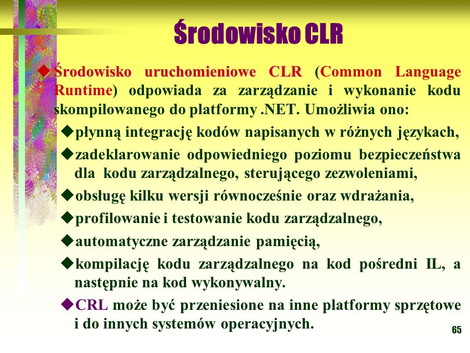 Środowisko CLR