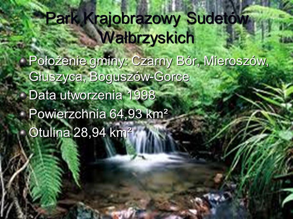 Park Krajobrazowy Sudetów Wałbrzyskich