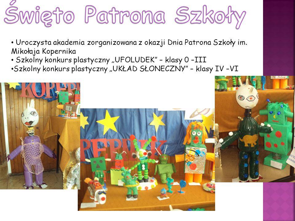 Święto Patrona Szkoły Uroczysta akademia zorganizowana z okazji Dnia Patrona Szkoły im. Mikołaja Kopernika.