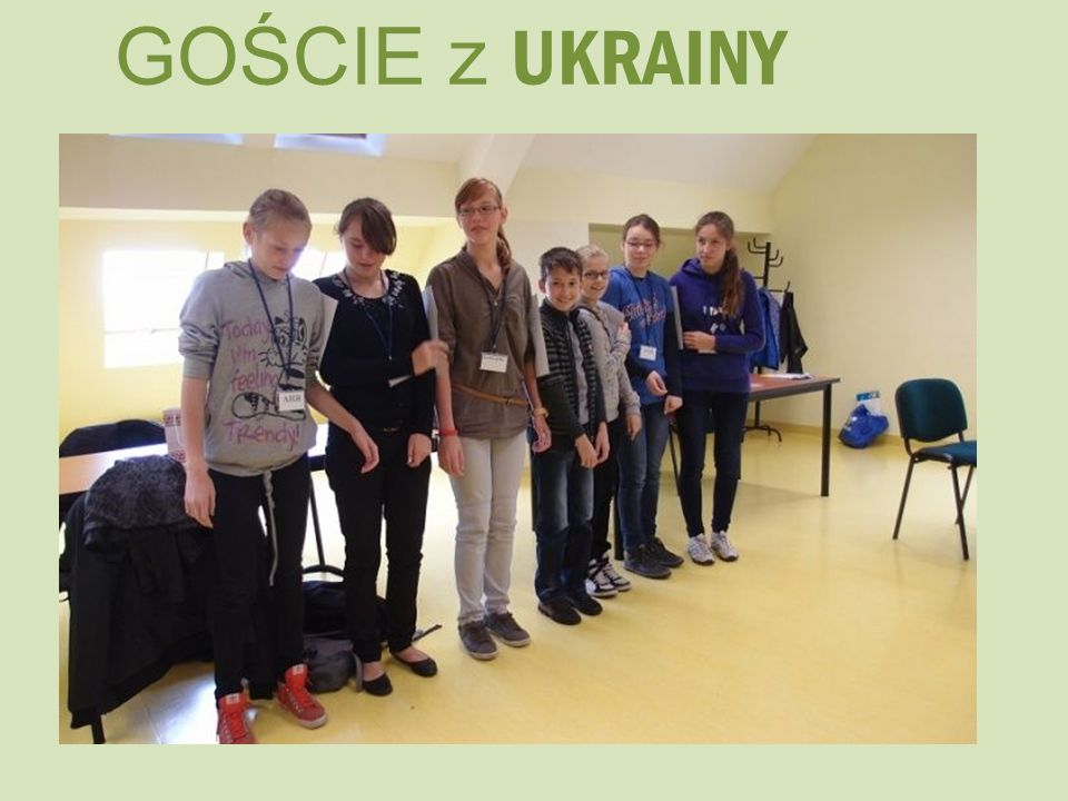 GOŚCIE z UKRAINY