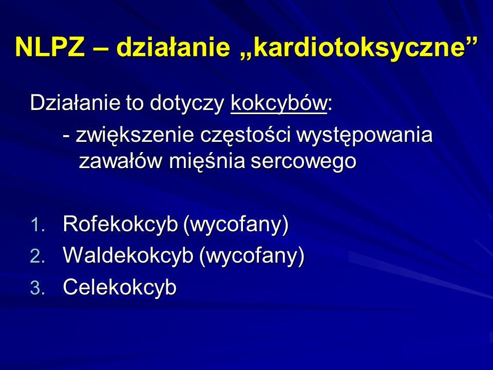 """NLPZ – działanie """"kardiotoksyczne"""