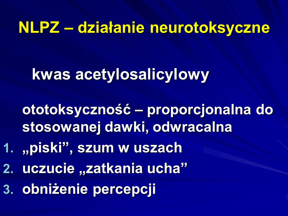 NLPZ – działanie neurotoksyczne