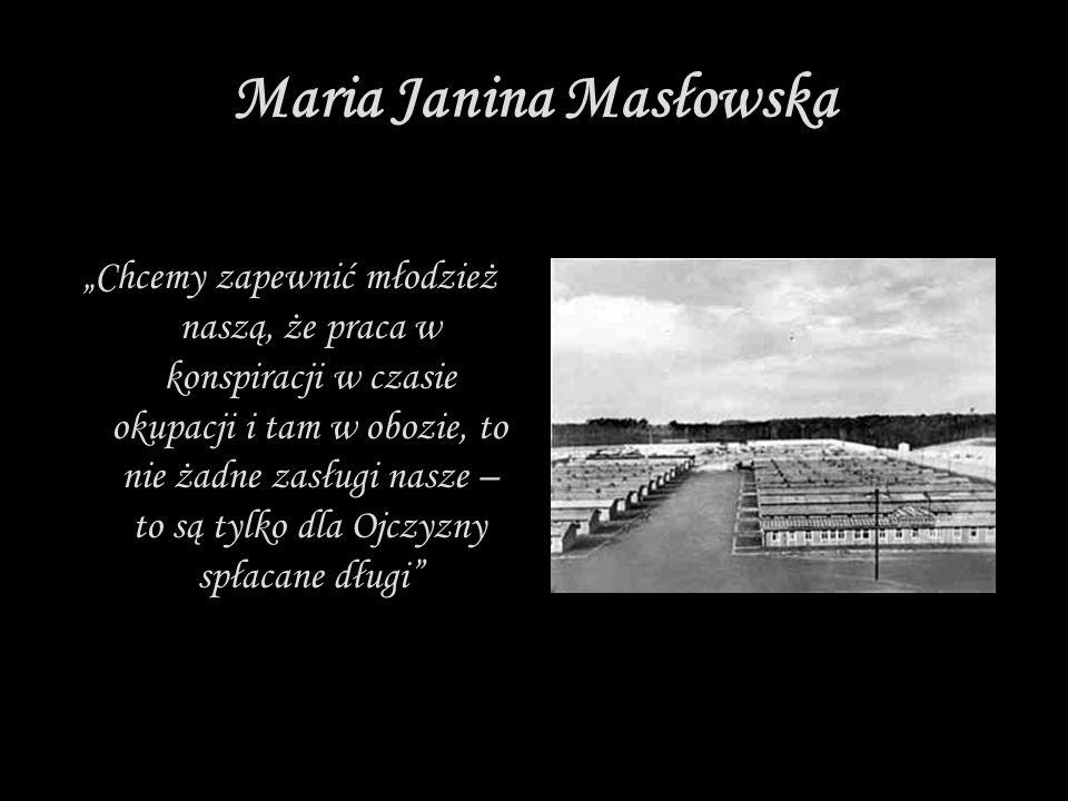 Maria Janina Masłowska