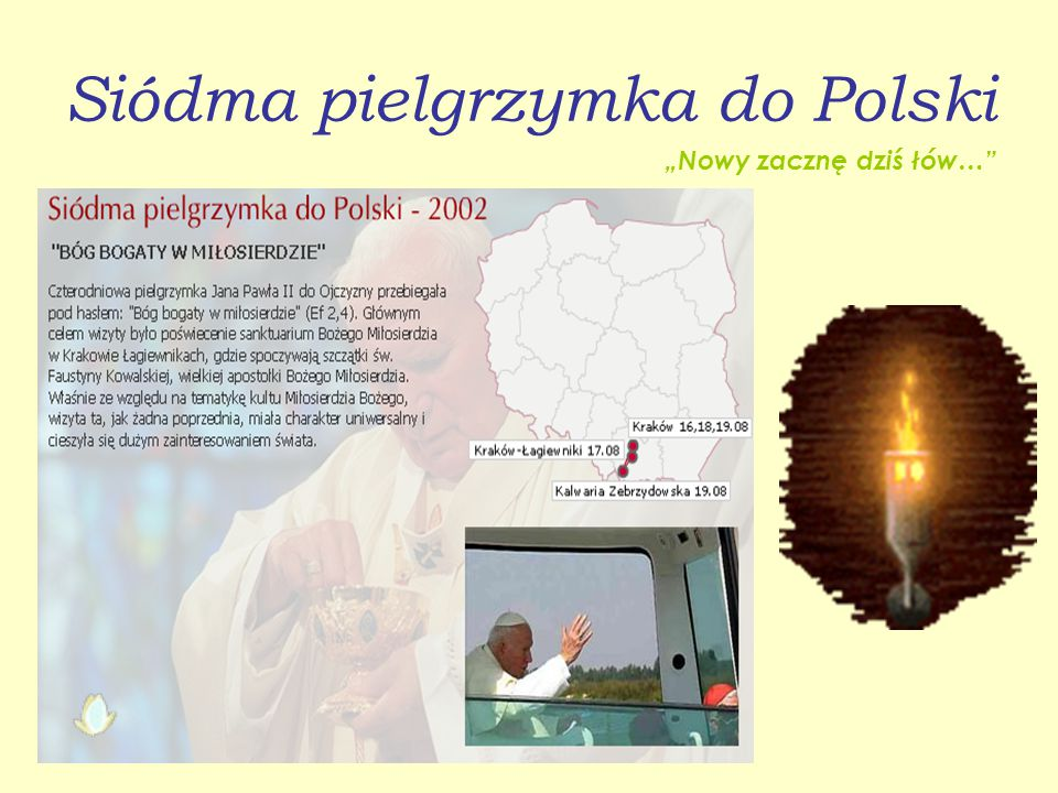 Siódma pielgrzymka do Polski
