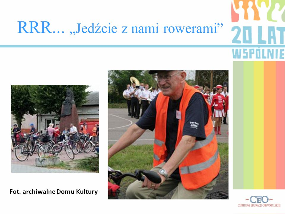"""RRR... """"Jedźcie z nami rowerami"""
