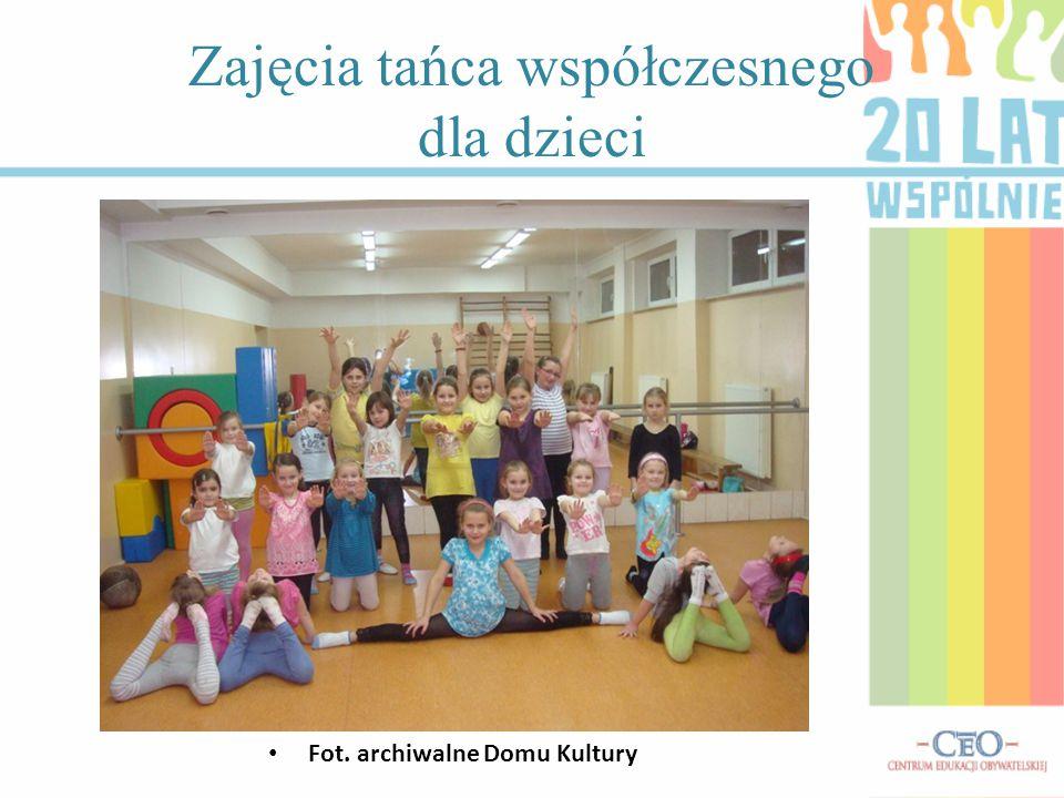 Zajęcia tańca współczesnego dla dzieci