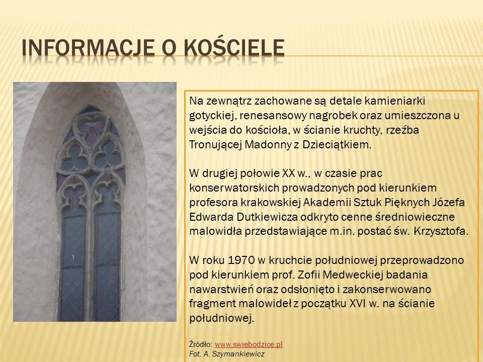 Informacje o kościele